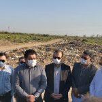 بازدید معاون استاندار از مناطق سیلزده بخش مرکزی اهواز/ ایستگاه پمپاژ قلعهسحر به بهرهبرداری میرسد